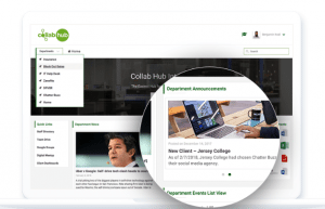 collab hub intranet for a mobile workforce