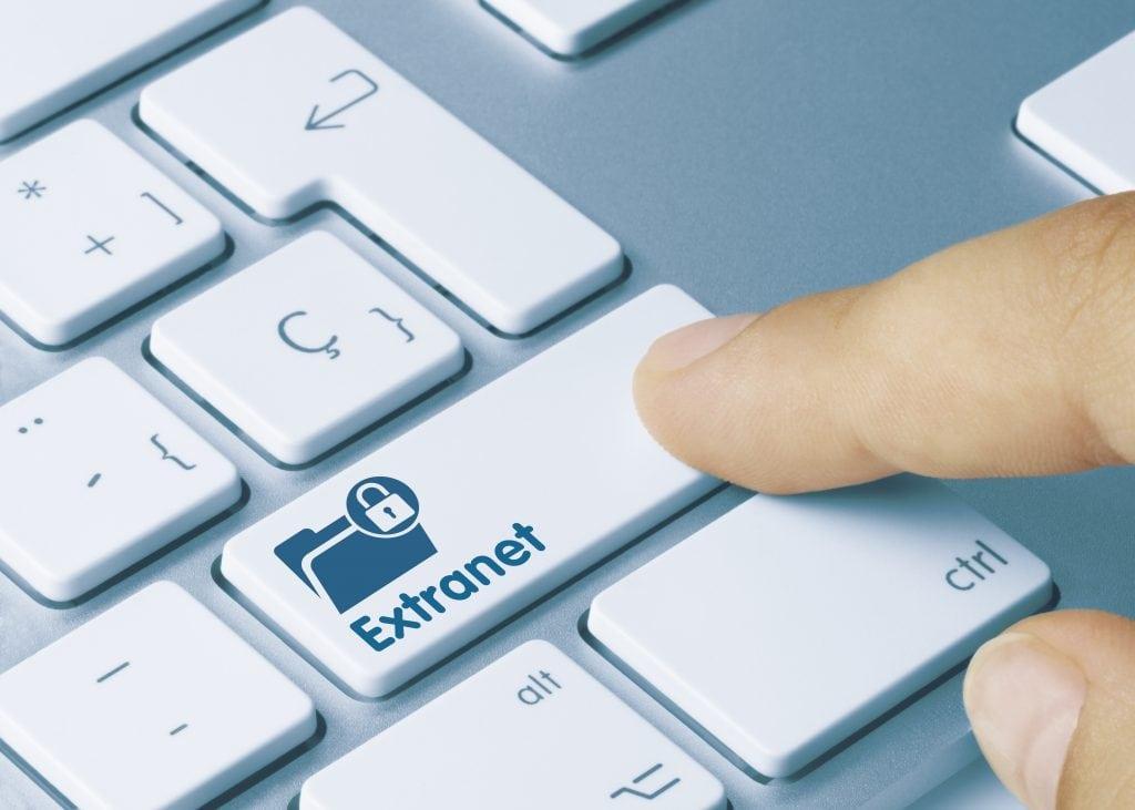 Extranet technology